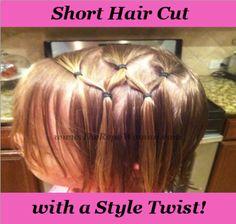 Back to school hair ideas for girls!  #Girls #hair #Hairstyles #Cute