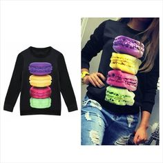 2016 Festival new stylish casual O neck 2016 Festival new stylish casual O neck long sleeve print pullover T shirt Other