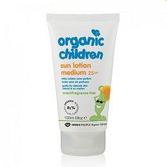 Green People Organic Children Sun Lotion SPF30 150ml (No Scent)