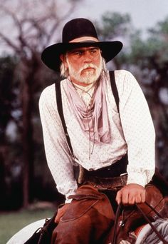 YES....TLJ as Woodrow Call in Lonesome Dove. Save a horse, ride a cowboy ;)