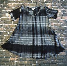 Piko: Tiedye V-Neck Dress