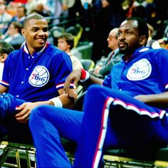 NBA - How Moses Malone mentored a young Charles Barkley