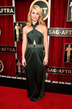 Claire Danes in Marc Jacobs - HarpersBAZAAR.com THE BEST OF THE SAG AWARDS  RED 19f7574b56ad