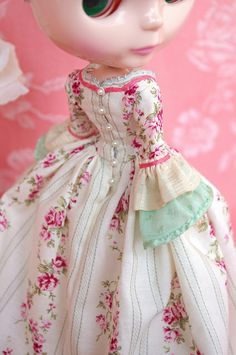 For Jodie ≈ Marie-Antoinette ≈ | Blythe clothes for dolls : tutorial : Kikihalb ♧ Forest~Tales ♧