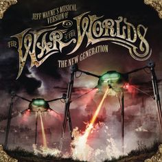 Jeff Wayne, Liam Neeson, Gary Barlow - The Eve of the War (War of the Worlds New Generation) World Calendar, Horror Font, Music Recommendations, Joss Stone, Gary Barlow, Wall Of Sound, Train Art, Liam Neeson, Music