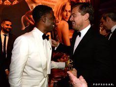 Pin for Later: Voilà Ce Que les Célébrités Ont Fait à L'afterparty des Oscars Leonardo DiCaprio et Chris Rock