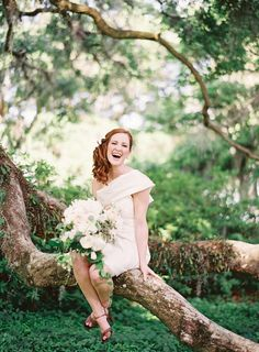 love this bride's short gown! | Jen Huang #wedding
