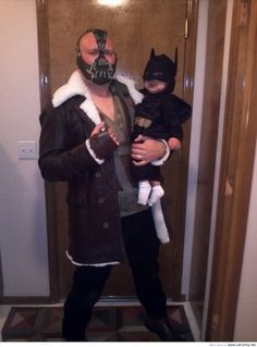 """My son and I celebrate his first Halloween…and when it's over, he has my permission to cry.""  Yes."