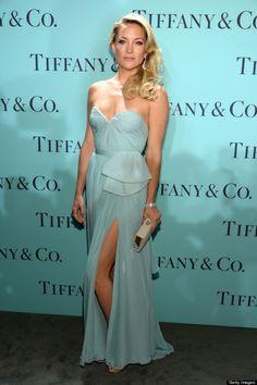 Kate Hudson bij  de Tiffany & Co Blue Book Ball