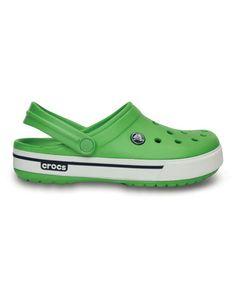 Look at this #zulilyfind! Green & Navy Crocband II.5 Clog - Unisex by Crocs #zulilyfinds