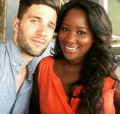 Gorgeous interracial couple #love #BWWM ♡ Happy Loving Day! @GolddennGoddess♛