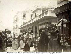 Mercado de San Antón .Hortaleza,30.