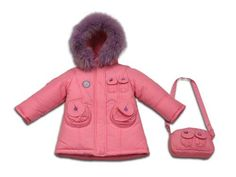 infant girl outerwear pink