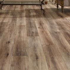 Mannington Restoration Wide Plank x x Laminate Flooring in Brushed Coffee - Modern Wide Plank Flooring, Basement Flooring, Living Room Flooring, Wood Laminate, Basement Remodeling, Kitchen Flooring, Flooring Ideas, Kitchen Wood, Home Decor
