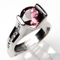 Garnet & Diamond Ring...my boys birthstones