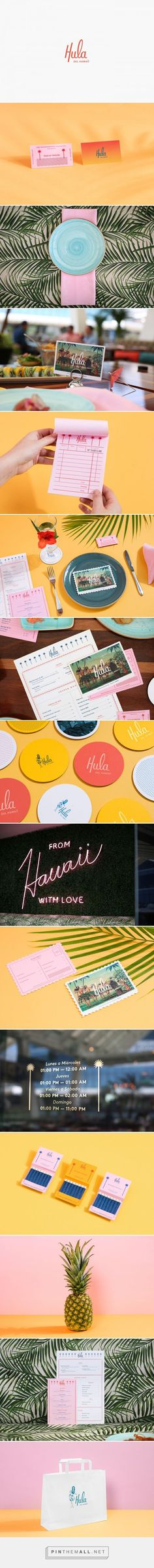 Hula Branding by Parametro Studio on Behance | Fivestar Branding – Design and Branding Agency & Inspiration Gallery