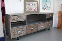 1000 images about bois de palette on pinterest wine - Meuble avec caisse de vin en bois ...