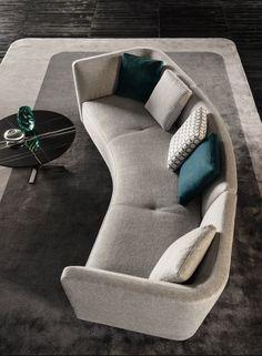 minotti seymour sofa | Interior design trends for 2015 #interiordesignideas #trendsdesign bykoket.com/home.php