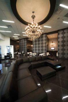 EvelineCharles Salon & Spa ~ Lovely reception area.
