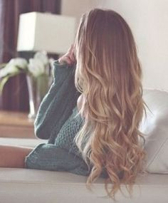 Brown to Blonde Ombre Hair- doig this with my hair for summer Hair Blond, Ombré Hair, Hair Day, Her Hair, Brown Hair, My Hairstyle, Pretty Hairstyles, Hairstyle Ideas, Love Hair