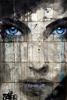 View LOUI JOVER's Artwork on Saatchi Art. Find art for sale at great prices from artists including Paintings, Photography, Sculpture, and Prints by Top Emerging Artists like LOUI JOVER. Graffiti, Newspaper Art, Arte Pop, Eye Art, Beautiful Artwork, Oeuvre D'art, Urban Art, Collage Art, Amazing Art
