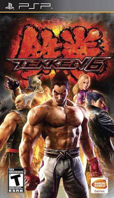Tekken 6 Para Psp Descargar Juegos Para Psp Juegos De Psp Play Stations Juego De Pelea