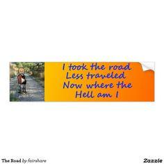 The Road Bumper Sticker