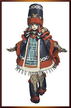 Some cool female outfit art from MH Festa. Character Design Girl, Character Creation, Character Design Inspiration, Character Concept, Character Art, Monster Hunter G, Cry Anime, Anime Art, Girls Anime