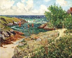 Maxime Maufra (1861-1918) French Impressionist Painter ~ Blog of an Art Admirer