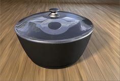 Cooking pot 3d model free
