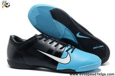 Low Price Blue Black Nike GS III ACC IC Football Shoes For SaleFootball Boots For Sale