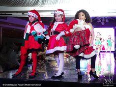 Desfile de graduación de la promoción XXIII de modelos. Agencia People's Model International  #Christmas #model #graduation #navidad #girls #modelo #Promo #XXIII