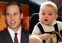5 Adorable Facial Expressions Prince George Stole From His Dad Duke William, Prince William Family, Prince William And Kate, William Kate, Princess Diana Photos, Princess Charlotte, Prince George Alexander Louis, Popular People, Famous People