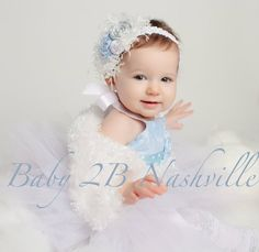 Winter Onederland Snow Princess Baby Tutu Set Pageant Wear on Etsy, $80.00