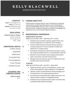 Resume Builder Free Resume Builder, Administrative Assistant Resume, Resume Maker, Business Cards Layout, Online Resume, Perfect Resume, Resume Objective, Nursing Assistant, Business Analyst