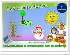 """""""Las 4 estaciones"""" (Medio Físico de Educación Infantil)"""