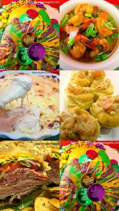 Mardi Gras Feast!  A collection of recipes for your next Mardi Gras party!