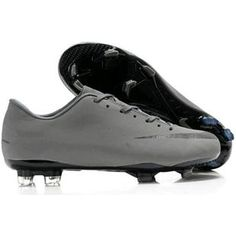http://www.asneakers4u.com/ Nike Mercurial Victory VIII FG Mens Firm Ground Soccer Cleats Grey/Black