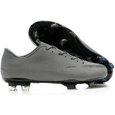 http://www.asneakers4u.com/ Nike Mercurial Victory VIII FG Mens Firm Ground Soccer Cleats Grey/Black