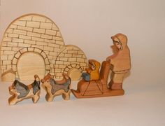 Inuit Family by AForestFamily on Etsy, $75.00