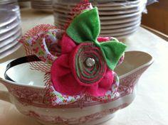 en rosas con florecillas y la perla de Algodón de Luna POR DIOS ESTA ES IDEAL