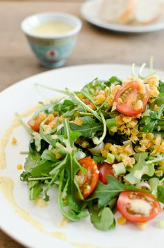 Rücklauf Linsen Salat