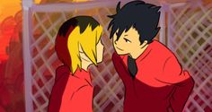 ive wanted to do this for a while now, anD NOW I CAN STARE AT KUROKEN KISSING original gif