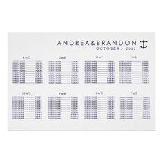 39 Best Nautical Wedding Seating Plans Images In 2013 Wedding