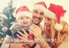 Photo Upload Horizontal Personalised Text CardOnce you've personalised your card or uploaded a photo, and used the handwriting feature on the , Short Christmas Wishes, Happy Merry Christmas, Christmas Is Over, Babies First Christmas, Wishes For Daughter, Family Pjs, Photography Backdrop Stand, Web Design Tutorials, Design Ideas