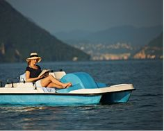 Pedal boat  A trip with our pedal boats is an experience for the entire family. Escape from everyday life and get to know Lake Lugano from its best side: the shores, where the mild wind blows and where you can relax even on the warmest summer's days.