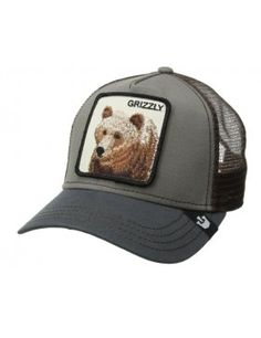 a75d2c9c825b0 Goorin Bros. Grizz Trucker cap olive Snap Backs