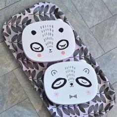 boite panda noir Suzy Ultman - deco-graphic.com