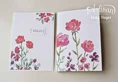 Stampin' Up ideas and supplies from Vicky at Crafting Clare's Paper Moments: Welcome to my team - Stampin' Up Artisan blog hop