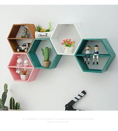 Cube Shelves - Welcome to Esshelf Floating Cube Shelves, Cube Storage Shelves, Wine Shelves, Wall Mounted Shelves, Wall Showcase Design, Wall Design, Pink Bookshelves, Living Room Storage, Bedroom Storage